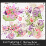 Blooming Love Accents Pack-$3.99 (Jumpstart Designs)