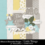 Little Things A2R Combo Pack-$3.99 (Albums to Remember)