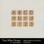 Alpha Basics Cork Vol 1-$2.99 (Tami Miller)