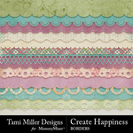 Create Happiness Borders Pack-$2.99 (Tami Miller)