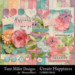 Create Happiness Combo Pack-$7.99 (Tami Miller)