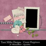 Create Happiness QuickMix-$3.99 (Tami Miller)
