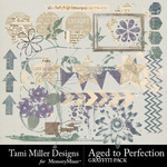 Aged to Perfection Graffiti Pack-$2.99 (Tami Miller)