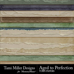 Aged to Perfection Torn Paper Pack-$3.99 (Tami Miller)