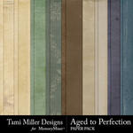 Aged to Perfection Paper Pack-$3.99 (Tami Miller)