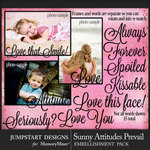 Sunny Attitudes Prevail Frame Art Pack-$3.99 (Jumpstart Designs)
