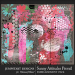 Sunny Attitudes Prevail Mixed Media Pack-$3.99 (Jumpstart Designs)