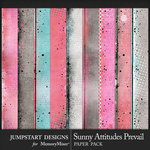 Sunny Attitudes Prevail Blended Paper Pack-$3.99 (Jumpstart Designs)