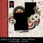 Love Is Patient QuickMix-$3.99 (Ooh La La Scraps)
