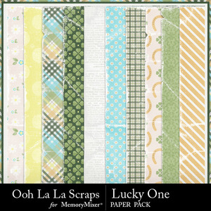 Lucky one worn papers medium