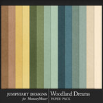 Woodland Dreams Kraft Paper Pack-$3.99 (Jumpstart Designs)