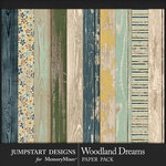 Woodland Dreams Wood Paper Pack-$3.99 (Jumpstart Designs)
