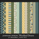 Woodland Dreams Patterned Paper Pack-$3.99 (Jumpstart Designs)