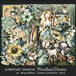 Woodland Dreams Embellishment Pack-$5.99 (Jumpstart Designs)