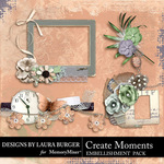 Create Moments Cluster Pack-$5.99 (Laura Burger)