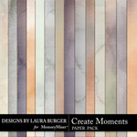 Create Moments Water Color Papers-$3.99 (Laura Burger)