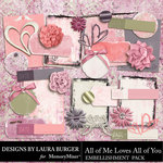All of Me Loves All of You Journal Pack-$4.99 (Laura Burger)