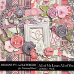 All of Me Loves All of You Combo Pack-$7.99 (Laura Burger)
