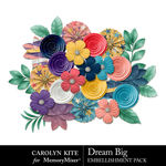 Dream Big CK Flowers Pack-$2.99 (Carolyn Kite)