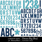 Dream Big CK Boy Alphabet Pack-$2.99 (Carolyn Kite)