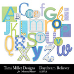 Daydream Believer Alphabet Pack-$2.99 (Tami Miller)