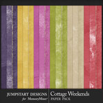 Cottage Weekends Kraft Paper Pack-$3.99 (Jumpstart Designs)
