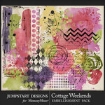 Cottage Weekends Mixed Media Pack-$3.99 (Jumpstart Designs)