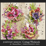 Cottage Weekends Art Clusters Pack-$3.99 (Jumpstart Designs)
