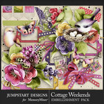Cottage Weekends Extras Pack-$3.99 (Jumpstart Designs)