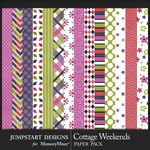 Cottage Weekends Patterned Paper Pack-$3.99 (Jumpstart Designs)
