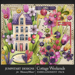 Cottage Weekends Embellishment Pack-$4.99 (Jumpstart Designs)