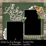 Lucky One QuickMix-$3.99 (Ooh La La Scraps)