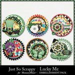 Lucky Me JSS Cluster Seals Pack-$1.99 (Just So Scrappy)