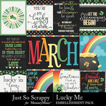 Lucky Me JSS Pocket Cards Pack-$1.99 (Just So Scrappy)