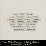 Flying Kisses Wordbits Pack-$2.99 (Tami Miller)
