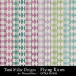 Flying Kisses Extra Paper Pack-$2.80 (Tami Miller)