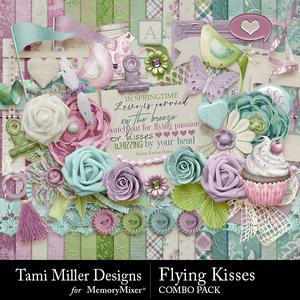 Flying kisses combo pack medium
