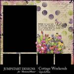 Cottage Weekends QuickMix-$2.80 (Jumpstart Designs)