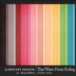 That Warm Fuzzy Feeling Kraft Papers-$2.80 (Jumpstart Designs)