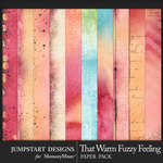 That Warm Fuzzy Feeling Blended Papers-$2.80 (Jumpstart Designs)