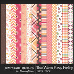 That Warm Fuzzy Feeling Pattern Papers-$2.80 (Jumpstart Designs)