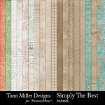 Simply The Best Paper Pack-$3.99 (Tami Miller)