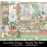 Simply The Best Embellishment Pack-$3.99 (Tami Miller)