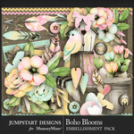 Boho Blooms Add On Pack-$3.99 (Jumpstart Designs)
