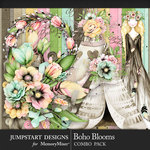Boho Blooms Combo Pack-$8.99 (Jumpstart Designs)