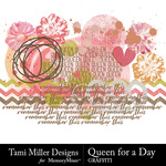 Queen for A Day Graffiti Pack-$2.99 (Tami Miller)
