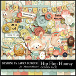 Hip Hop Hooray Combo Pack-$8.99 (Laura Burger)