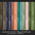 Rugged and Rowdy Basic Paper Pack-$3.99 (Jumpstart Designs)