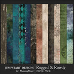 Rugged and Rowdy Rustic Paper Pack-$3.99 (Jumpstart Designs)
