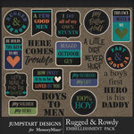 Rugged and Rowdy WordArt Pack-$3.99 (Jumpstart Designs)